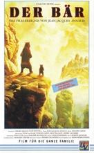 The Bear - German VHS movie cover (xs thumbnail)