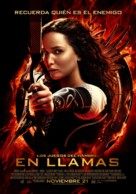 The Hunger Games: Catching Fire - Chilean Movie Poster (xs thumbnail)