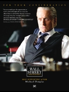 Wall Street: Money Never Sleeps - For your consideration movie poster (xs thumbnail)