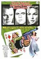 The Manchurian Candidate - Spanish Movie Poster (xs thumbnail)
