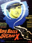 No Name on the Bullet - French Movie Poster (xs thumbnail)
