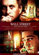 Wall Street - German Movie Poster (xs thumbnail)