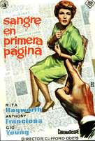 The Story on Page One - Spanish Movie Poster (xs thumbnail)