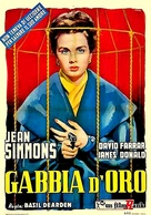 Cage of Gold - Italian Movie Poster (xs thumbnail)