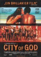 Cidade de Deus - German DVD cover (xs thumbnail)