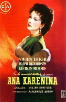 Anna Karenina - Spanish Movie Poster (xs thumbnail)