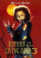 Return of the Living Dead III - DVD cover (xs thumbnail)