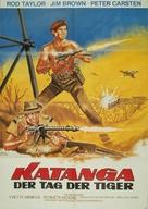 The Mercenaries - German Movie Poster (xs thumbnail)