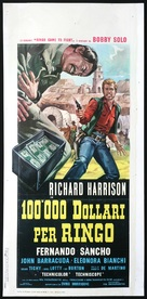 Centomila dollari per Ringo - Italian Movie Poster (xs thumbnail)