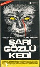 Il gatto dagli occhi di giada - Turkish Movie Poster (xs thumbnail)