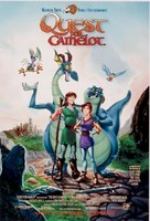 Quest for Camelot - Video release movie poster (xs thumbnail)