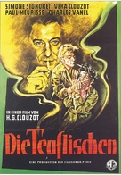 Les diaboliques - German Movie Poster (xs thumbnail)