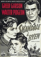 Scandal at Scourie - Danish Movie Poster (xs thumbnail)