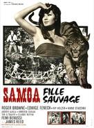 Samoa, regina della giungla - French Movie Poster (xs thumbnail)