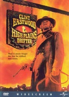 High Plains Drifter - DVD movie cover (xs thumbnail)