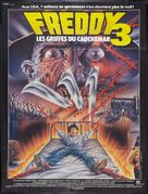 A Nightmare On Elm Street 3: Dream Warriors - French Movie Poster (xs thumbnail)