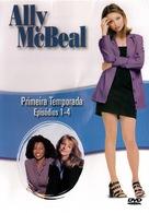 """Ally McBeal"" - Brazilian DVD movie cover (xs thumbnail)"