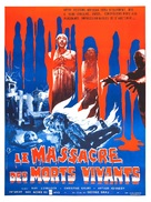 Let Sleeping Corpses Lie - French Movie Poster (xs thumbnail)
