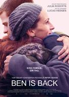 Ben Is Back - German Movie Poster (xs thumbnail)