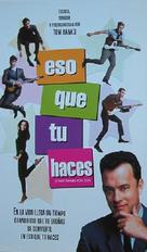 That Thing You Do - Argentinian Movie Poster (xs thumbnail)