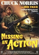 Missing in Action - German Movie Poster (xs thumbnail)