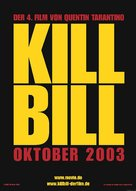 Kill Bill: Vol. 1 - German Movie Poster (xs thumbnail)