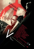 V for Vendetta - Turkish Movie Poster (xs thumbnail)