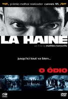 La haine - Portuguese DVD movie cover (xs thumbnail)