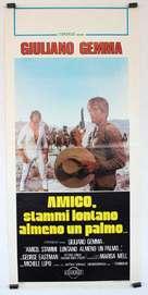 Amico, stammi lontano almeno un palmo - Italian Movie Poster (xs thumbnail)