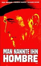 Hombre - German VHS cover (xs thumbnail)