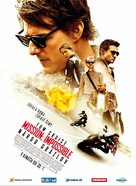 Mission: Impossible - Rogue Nation - Slovak Movie Poster (xs thumbnail)