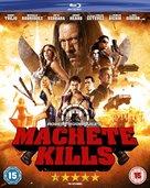 Machete Kills - British Blu-Ray movie cover (xs thumbnail)