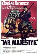 Mr. Majestyk - Swedish Movie Poster (xs thumbnail)