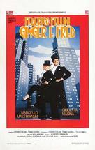 Ginger e Fred - Italian Movie Poster (xs thumbnail)