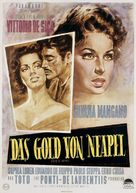 L'oro di Napoli - German Movie Poster (xs thumbnail)