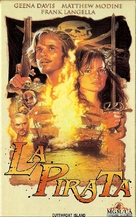 Cutthroat Island - Argentinian VHS movie cover (xs thumbnail)