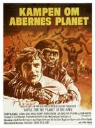 Battle for the Planet of the Apes - Danish Movie Poster (xs thumbnail)