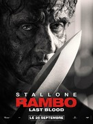 Rambo: Last Blood - French Movie Poster (xs thumbnail)
