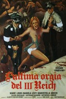 L'ultima orgia del III Reich - Italian Movie Poster (xs thumbnail)