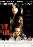 A Time to Kill - Spanish Movie Poster (xs thumbnail)
