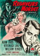 The Blue Dahlia - Danish Movie Poster (xs thumbnail)