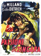 Golden Earrings - Italian Movie Poster (xs thumbnail)