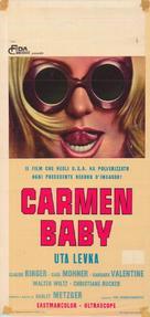 Carmen, Baby - Italian Movie Poster (xs thumbnail)
