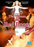 La femme aux bottes rouges - Movie Cover (xs thumbnail)