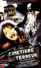 Cementerio del terror - French VHS cover (xs thumbnail)
