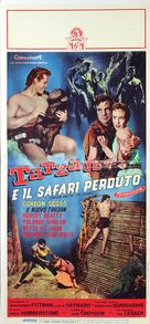 Tarzan and the Lost Safari - Italian Movie Poster (xs thumbnail)