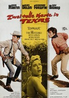 Texas Across the River - German Movie Poster (xs thumbnail)
