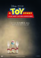 Toy Story 4 - German Movie Poster (xs thumbnail)