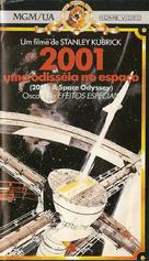 2001: A Space Odyssey - Brazilian VHS cover (xs thumbnail)