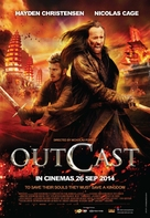 Outcast - Malaysian Movie Poster (xs thumbnail)